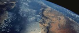 A view of Earth's atmoshere from space