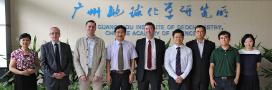 Group photo of those involved in the agreement with Guangdong Chinese Academy of Sciences