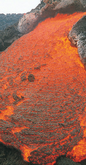 Improving resilience and adaptation to environmental threats Volcanic Lava