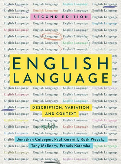 Book cover: English Language: Description, Variation and Context
