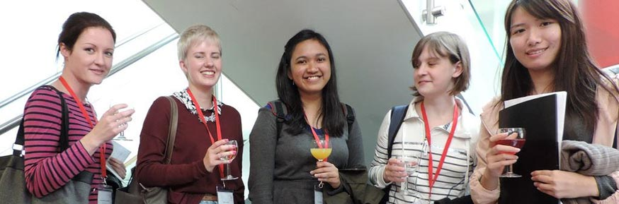 Students from the Postgraduate Reception 2014