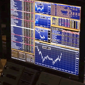Markets screen