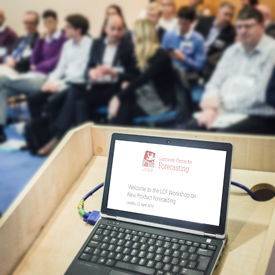 Successful LCF Workshop on New Product Forecasting