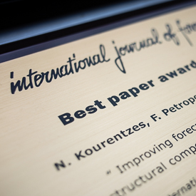 LUMS team wins IJF Best Paper Award
