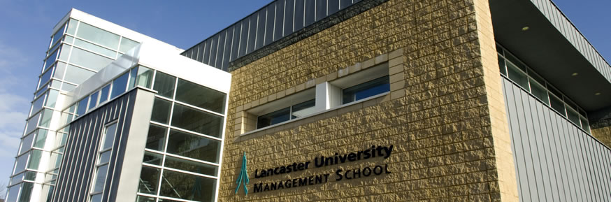 Lancaster University Management School building