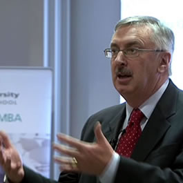 MBA Guest Speaker Paul Sloane:  'Lateral leadership'