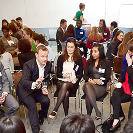 Students and alumni enjoy networking opportunity in London