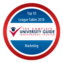 Lancaster ranked top for Marketing for second consecutive year