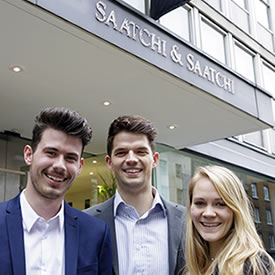 Saatchi success for three LUMS graduates