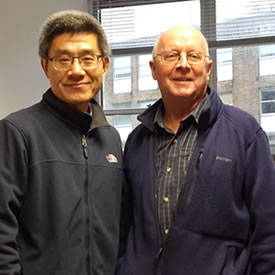 Visiting Professor from Jiangsu University returns to China