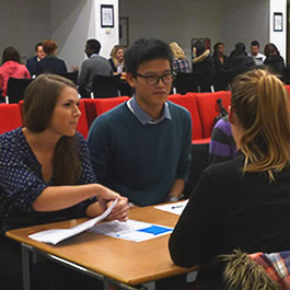 Speed networking adds fun to job hunt
