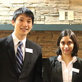 Entrepreneurship students succeed at international business competition
