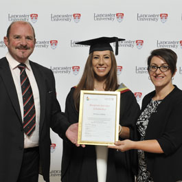 Marketing and Design graduate Emma Lindsay receives £1200 Blueprint Interiors Scholarship