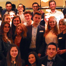 LUMS placement students and alumni reunite at London event