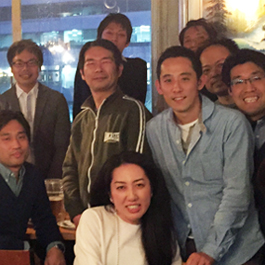 End-of-year alumni celebrations in Tokyo