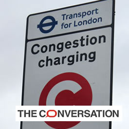 London's congestion charge increases speed and saves lives