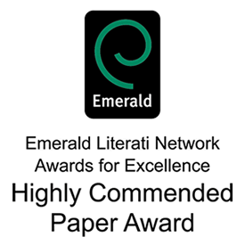 Emerald award for paper on procurement and operations strategy