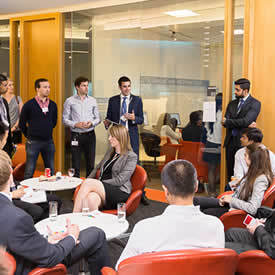 LUMS network supports financial sector careers at London event