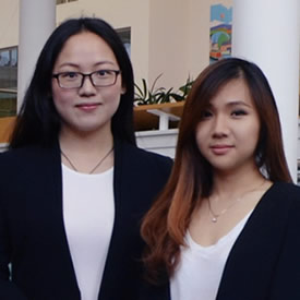 Masters students rise to consultancy challenge for local firm