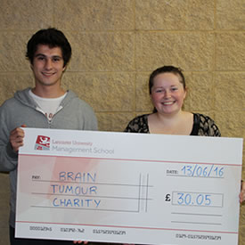 Entrepreneurial student fundraisers raise over £2000