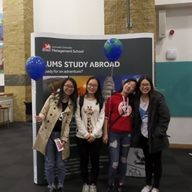 LUMS welcomes International Students