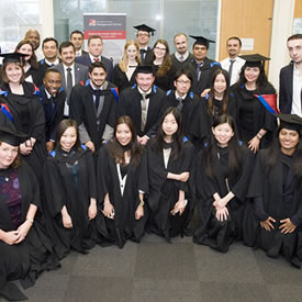Prizes awarded to MBA and EMBA graduates