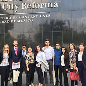 Students return from 'life-changing' trip to WBCSD Mexico