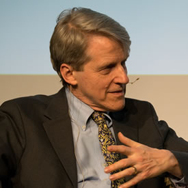 LUMS' Mark Shackleton interviews Nobel Laureate Robert Shiller