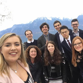 Students share 'eye-opening' experiences of WBCSD meeting in Montreux