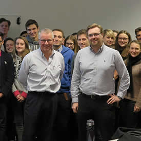 Warburtons sustainability leader shares insight with undergraduates