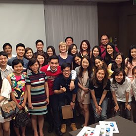 Alumni and applicants meet at Bangkok event