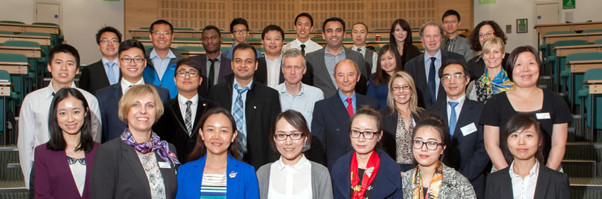 Semi-finalists at the China UK Entrepreneurship Challenge 2014