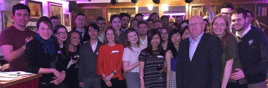 Photo of the attendees at the Placement Event.