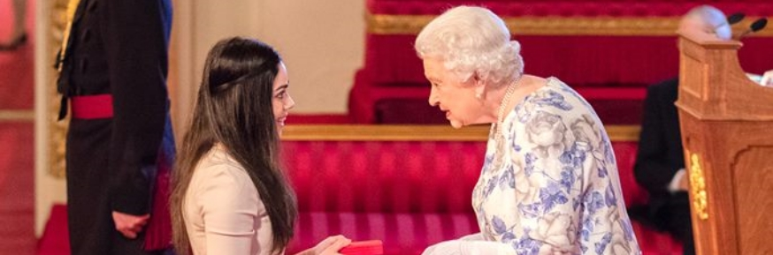 Queen's Young Leader Award for LUMS Alumna -