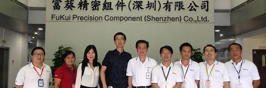 Dr. Liu in the world's 2nd biggest Printed Circuit Board (PCB) manufacturer company