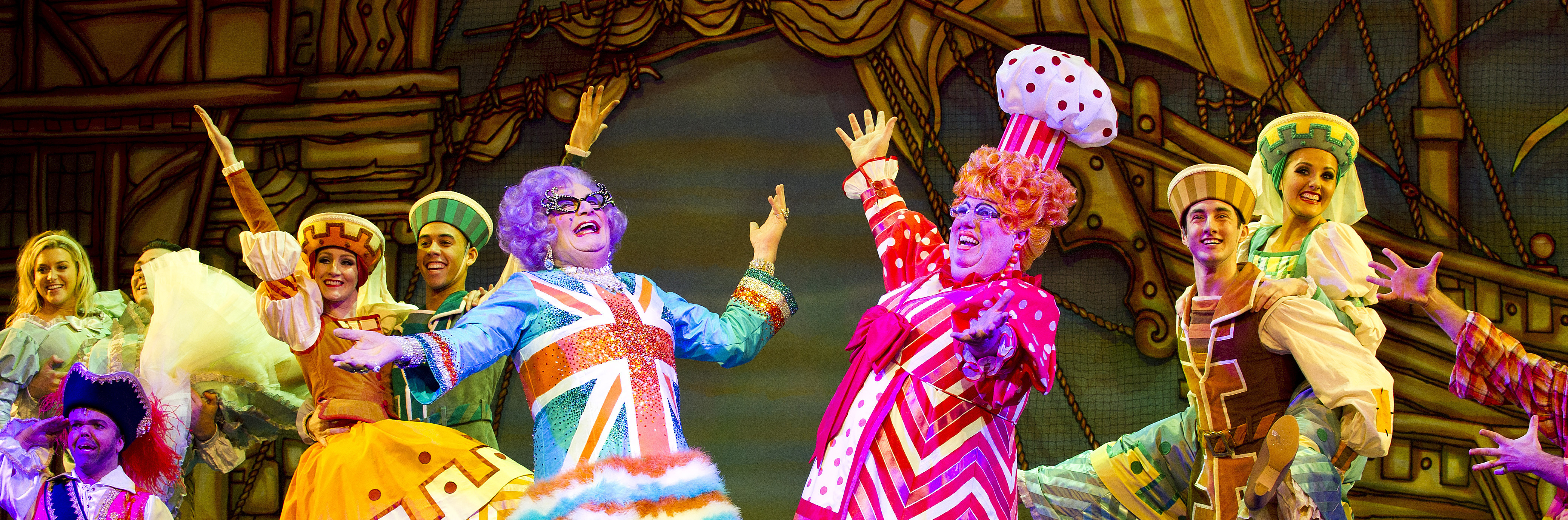 history of panto Michael grade explores the rich history of the very british pantomime dame from the extravagant productions in drury lane in the 19th century to the vintage performances by terry scott and arthur askey, the dame has always been anarchic, witty, vulgar, affectionate and good box office.
