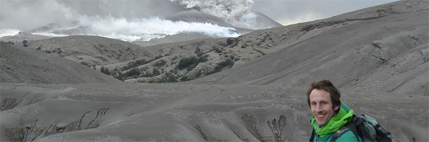 Dr Hugh Tuffen on the Puyehue volcano in Chile