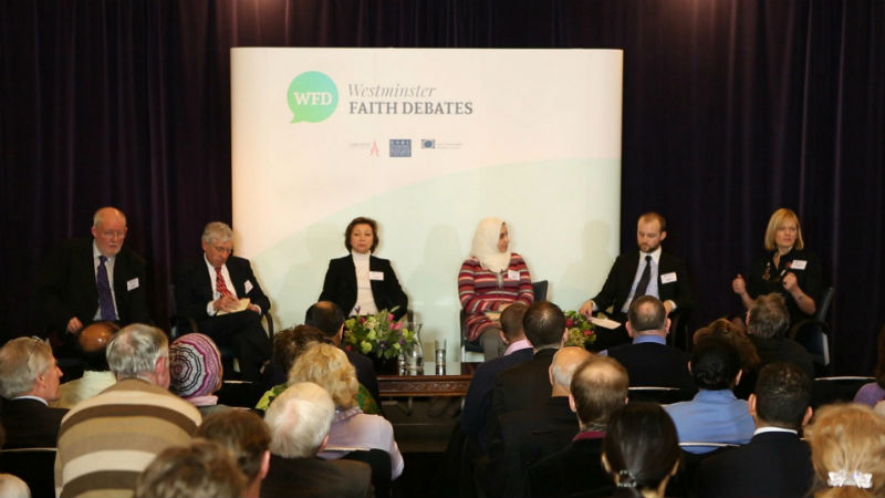 Westminster Faith Debate - Wednesday, 12th February 2014