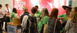 Understanding the Higgs Boson stand at the Royal Society Summer Science Exhibition 2013 (© Karl Harrison)
