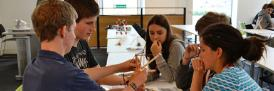 Students from UK Schools taking part in a mathematics Headstart course at Lancaster University