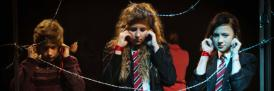 Central Lancaster High School pupils take part in Crossing the Line project