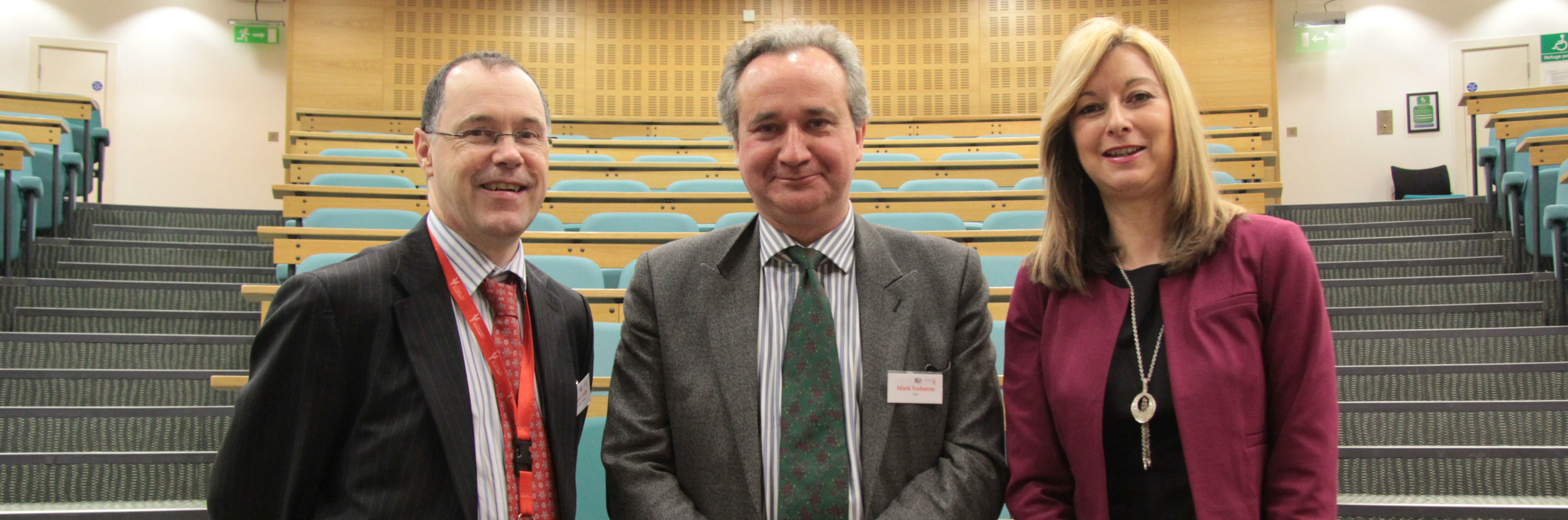 Professor Mark E. Smith, Dr Mark Treherne, and Dr Liz Mear