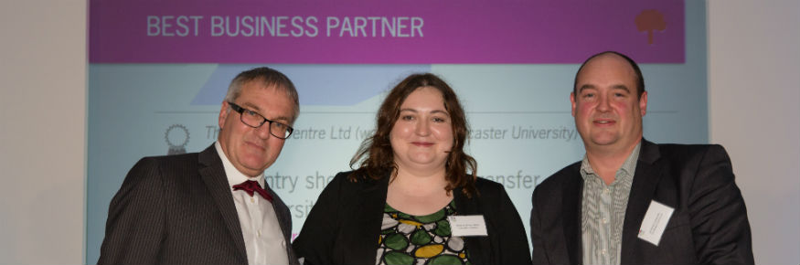 University and industry collaborations recognised by prestigious award