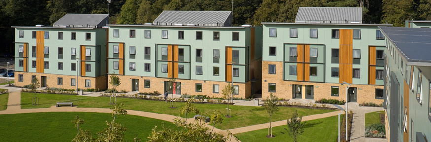 Lancaster University is second in the UK for Good Accommodation and Good Security on campus