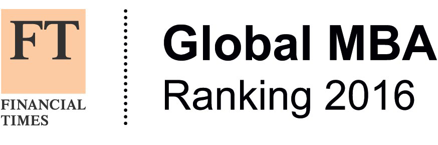 FT Global MBA Ranking 2016