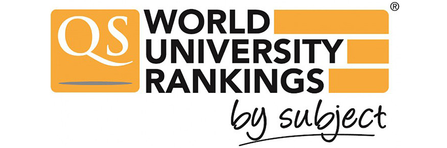 QS World University Rankings by Subject 2016