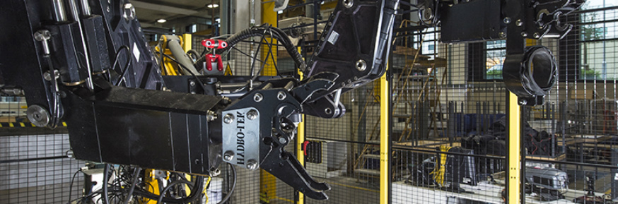 Lancaster's robot manipulator test bed aids research into managing objects in hazardous environments
