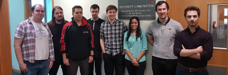 L-R: Joe Gardiner, James Boorman, Jonas Pertschy, Rohan Littler, Ollie Cuffley, Yvonne Johnson, Sean Lynch, Ric Derbyshire