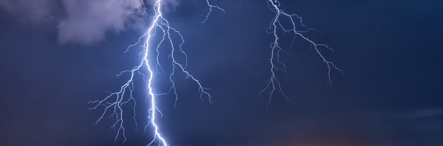 The study suggests lightning could strike less often as the planet warms