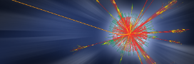 A new view of a black hole event. ATLAS collision events. (Courtesy of ATLAS Experiment at CERN)